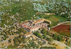 Moderne Karte Mallorca Sanctuaire de Lluc Vue aerienne
