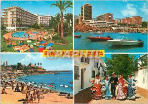 Moderne Karte Costa Del Sol Benalmadena Costa Vues diverses