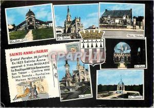 Moderne Karte Saint Anne d Auray Grand Pardon Juliet En Sainte Anne apparait a Yves Nicolazic Sa Basilique Sty