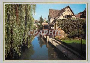Moderne Karte Colmar Haut Rhin The Little Venice on the banks of the Lauch