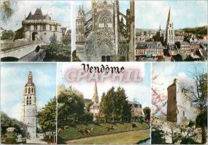 Moderne Karte La Vallee du Loir Vendome Loir et Cher La porte Saint Georges La facade de la Trinite L eglise d
