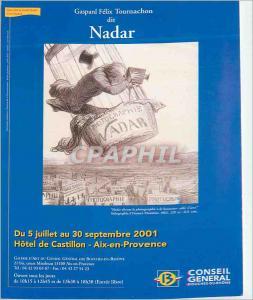 Moderne Karte Aix  en Provence Collection Bouches du Rhone Gaspard Felix Fournachon di Nadar Exposition du 5 J