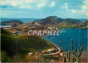 Moderne Karte Guadeloupe Terre de Haut des Saintes Los Santos Islands