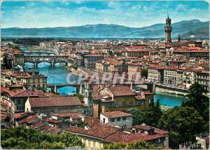 Moderne Karte Firenze Panorama