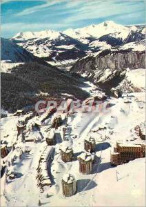 Moderne Karte Avoriaz alt 1800m la vallee  des Ardoisieres Morzine et le Massif du Mont Blanc