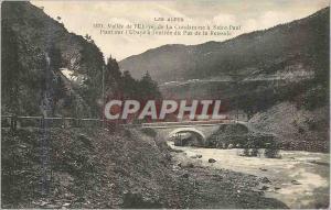 Ansichtskarte AK Les Alpes Vallee de L'Ubaye de la Condamine a Saint Paul