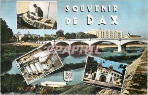 Moderne Karte Souvenir de Dax (Landes)