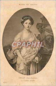 Ansichtskarte AK Musee du Louvre Greuze Jean Baptiste La Cruche Cassee
