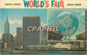 Moderne Karte New York World's Fair 1964 1965