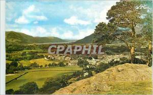 Moderne Karte Keswich from Castle Head