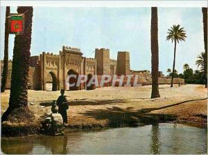 Moderne Karte Maroc Typique Village du Sud