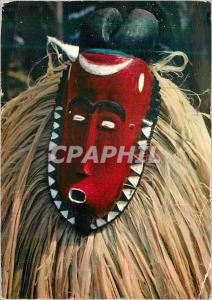 Moderne Karte Masque Africain Baoule