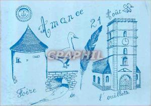 Moderne Karte Amance 21 Aout  Foire de L'Ouillotte