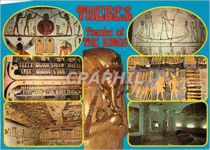 Moderne Karte Thebes Tombs of The Kings