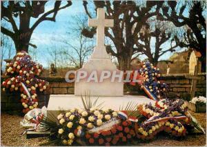 Moderne Karte Sepulture du General de Gaulle Colombey les Deux Eglises Haute Marne