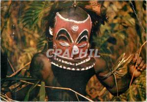 Moderne Karte Masque Africain Bapende