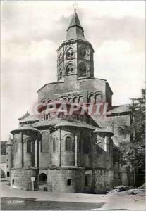 Moderne Karte Orcival (Puy de Dome) l'Eglise Romane Cite de l'Abside (Mon Hist XIIe s)