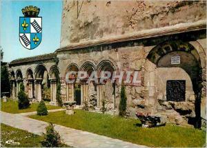 Moderne Karte Chelles (S et M) Vestiges du Cloitre de l'Abbaye Royale (XVIe S)