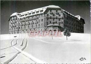 Moderne Karte Luchon Superbagneres (alt 1800 m) Le Grand Hotel de Superbagneres en Hiver Les Pyrenees