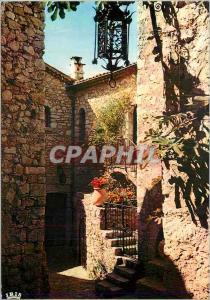 Moderne Karte Reflets de la Cote d'Azur Rue Typique d'un Vieux Village Provencal