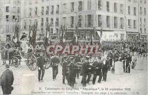 REPRO Catastrophe du Dirigeable Republique le 25 Septembre 1909 Funerailles des Victimes a Versaille