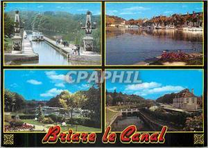 Ansichtskarte AK Briare le Canal (Loiret) le Pont Canal le Port Plaisance
