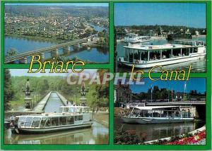 Ansichtskarte AK Briare le Canal (Loiret) Vue Aerienne du Pont Canal