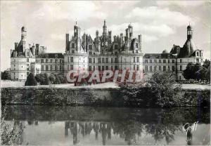 Moderne Karte Chambord (Loir et Cher) Chateau de la Loir Facade Nord