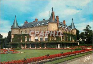 Moderne Karte Rambouillet (Yvelines) le Chateau Residence d'Ete