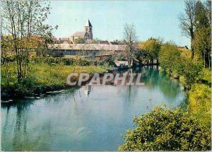 Moderne Karte Briarres sur Essonne (Loiret) Sur les Bords de l'Essonne