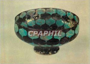 Moderne Karte Victoria and Albert Museum Bowl Alkaline Glazed Eartheware