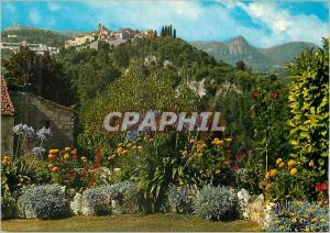 Moderne Karte Saint Paul de Vence La Cote d'Azur Vue Generale