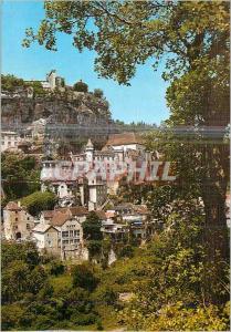 Moderne Karte Rocamadour Le Lot Terre des Merveilles Cite Medievale