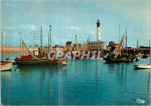 Moderne Karte Ouistreham Riva Bella (Calvados) Le Port Bateaux de peche