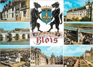 Moderne Karte Blois (Loire et Cher)Les Merveilles du Val de Loire