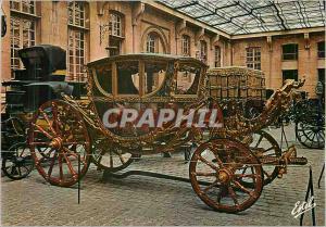 Moderne Karte Le Valois Compiegne (Oise)Musee de la voiture et du Tourisme Le Grand Hall