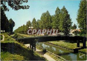 Moderne Karte Images de France Aulnay Bois (Seine Saint Denis)