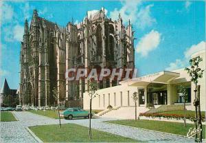 Moderne Karte Beauvais (Oise)La Cathedrale Saint Pierre et le musee de la Tapisserie