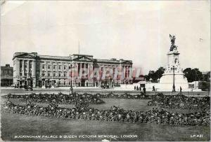 Moderne Karte Buckinghan Palace et Queen Victoria Memorial London