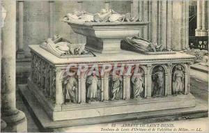 Ansichtskarte AK Abbaye de Saint Denis tombeau de louis d'Orleans et de Valentine de Milan