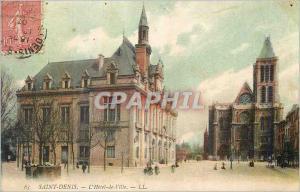 Ansichtskarte AK Saint Denis l'Hotel de ville