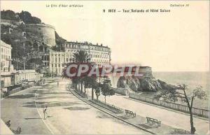 Ansichtskarte AK Nice Tour Bellanda et hotel Suisse