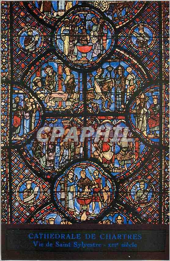 Ansichtskarte AK Cathedrale de Chartres vie de Saint Sylvestre 0