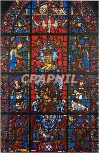 Ansichtskarte AK Cathedrale de Chartres Notre Dame de la Belle Verriere