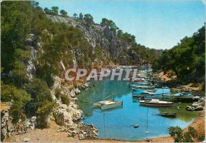 Moderne Karte Nos Belles Calanques Pres de Cassis Calanque du Port Miou