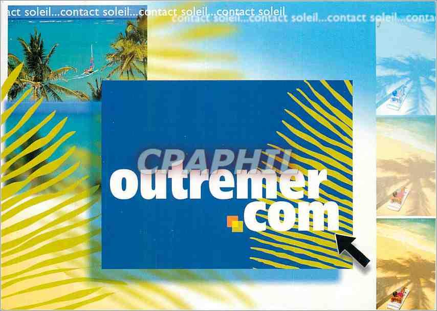 Moderne Karte Publicite Outremer.com 0