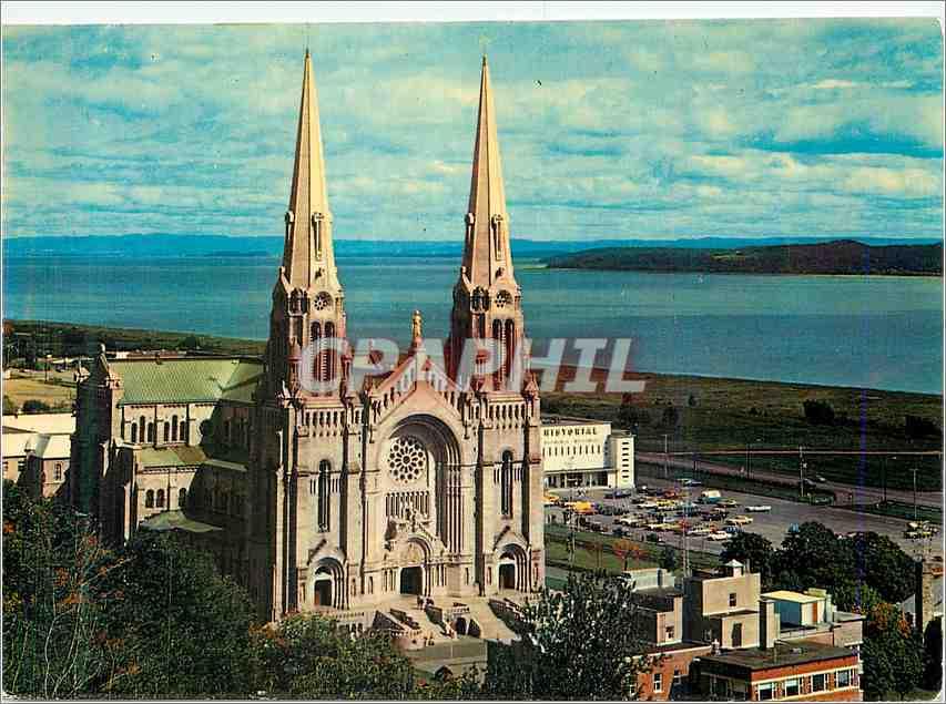 Moderne Karte Sainte Anne de Beaupre Que 0