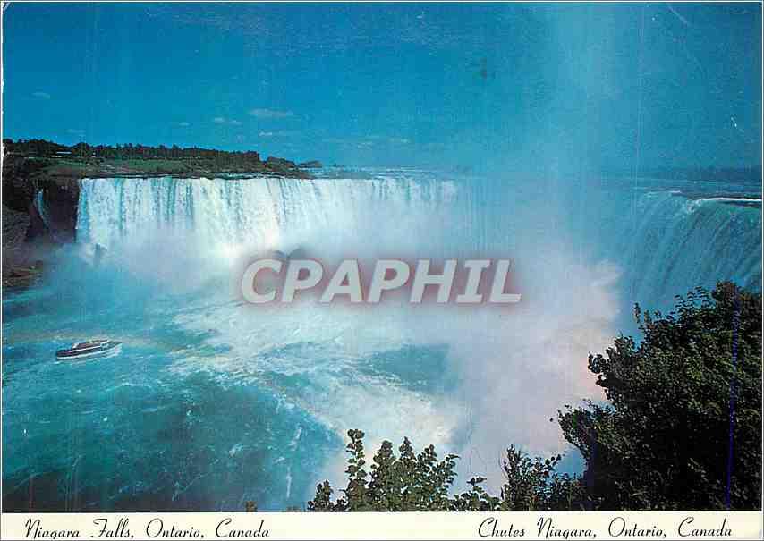 Moderne Karte Chutes Niagara Ontario Canada 0