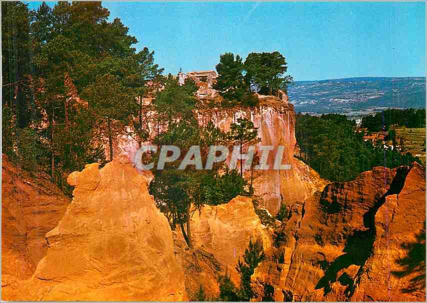 Moderne Karte Roussillon Falaise Sainte Anne 0