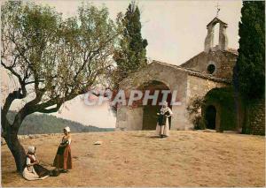 Moderne Karte Les Belles Images de Provence St Sixte